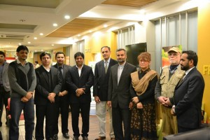 Newly Elected Executive Council Members and Office Bearers with Founder  OSFP Babar Zahoor
