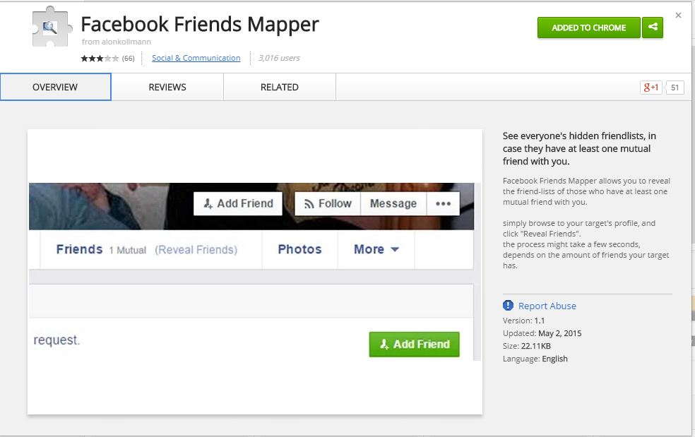 facebook mapper