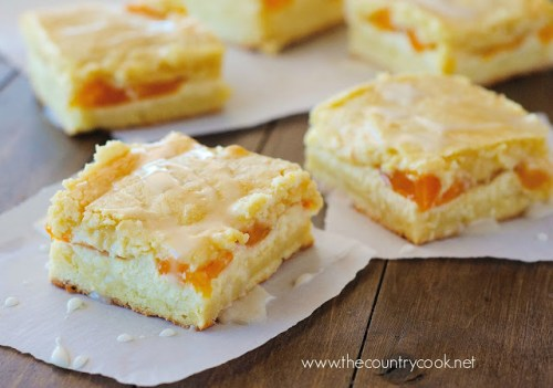 Peaches-N'-Cream-Bars (with graphics, www.thecountrycook.net)