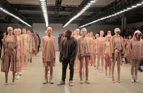Kanye NYFW 2015