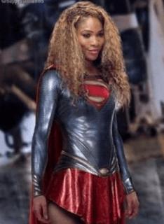 Serena as Supergirl