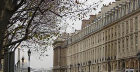 Looking toward Place de la Concorde