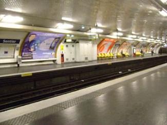 Metro station Sentier