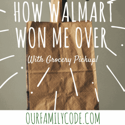 How Walmart Won Me Over With Grocery Pickup!