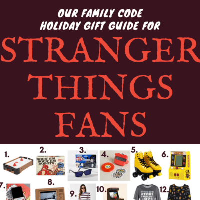 Holiday Gift Guide for Stranger Things Fans