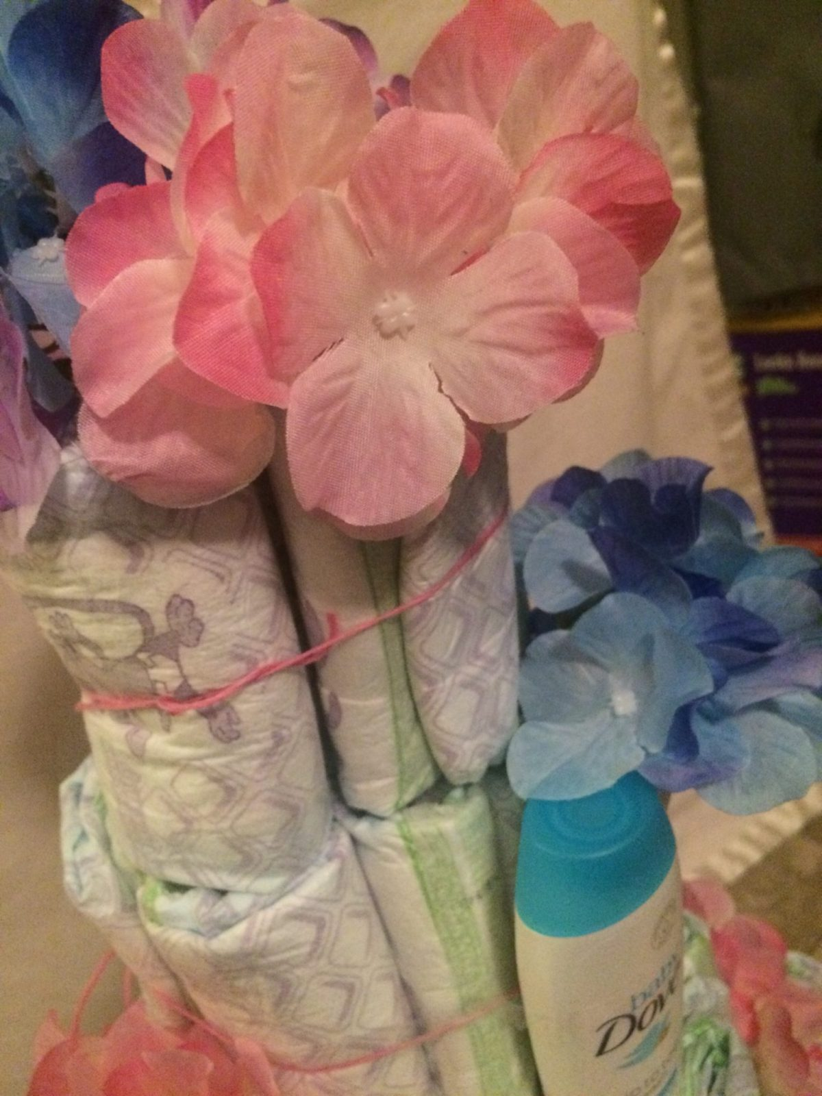 This Diaper Cakes Are An Awesome Gift To Bring To