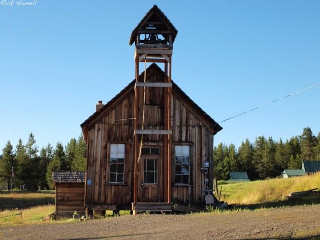 Ghost town of Granite, Oregon