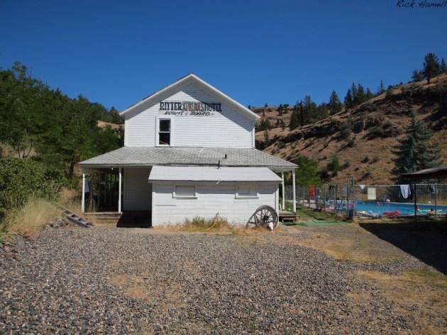 Ritter Hot Springs, Ritter Oregon (Ghost Town)