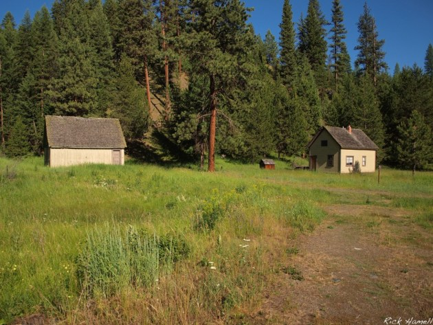 Wallowa Forest Outpost Buildings