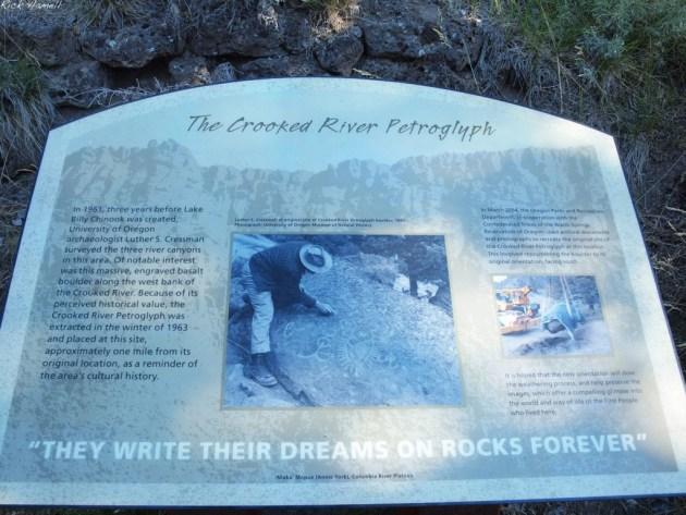 Crooked River Petroglyphs