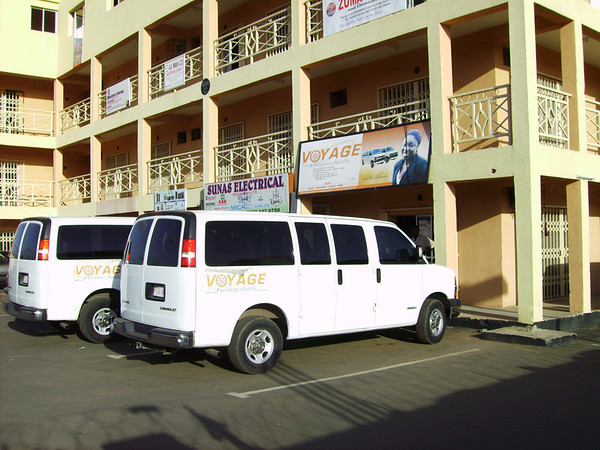 The Voyage bus base in Abuja