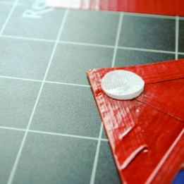 Step 11: Add velcro to the top of the flap