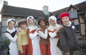 kids at Shakespeare's trust