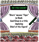 did you know shere khan