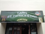 Kell's Brew Pub St. Patrick's Day banner