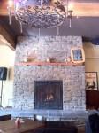 Kell's Brew Pub fireplace