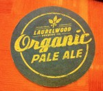 Laurelwood Brewing Organic Pale Ale coaster