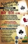 Alameda NE Pedal Poker Run 2012 Flier