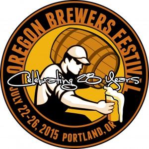 2015 Oregon Brewers Festival Logo