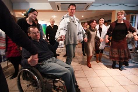 dancing on welcoming Shabbat 3edited