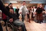 dancing on welcoming Shabbat