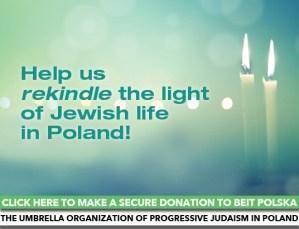 Donate to Beit Polska, the umbrella organization of Progressive Judaism in Poland