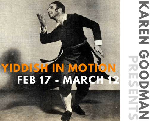 Yiddish in Motion ad