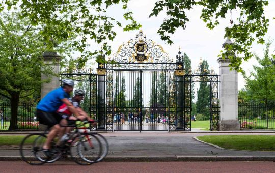 The Rhyme of The Regent's Park Cyclist