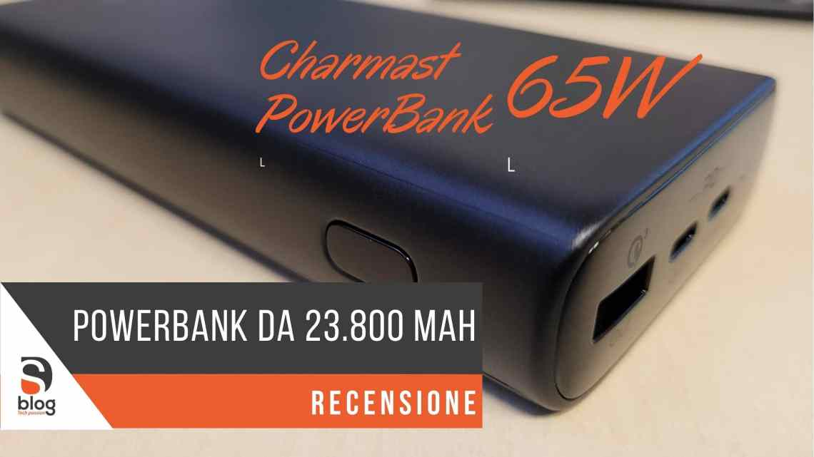 Charmast PowerBank 23800mAh – Top