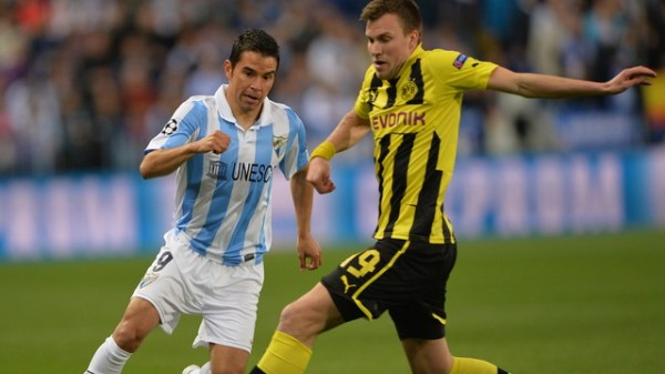 Malaga CF v Borussia Dortmund - UEFA Champions League Quarter Final