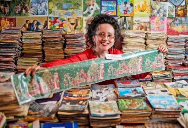 World's Top Napkin Collector Antonia Kozak In Slovakia