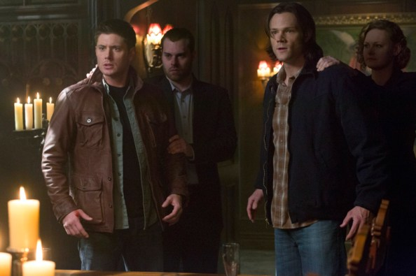 Dean and Sam Winchester captured by the alpha vampire
