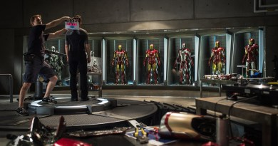"Marvel has released the first ""official"" photo from the set of IRON MAN 3."