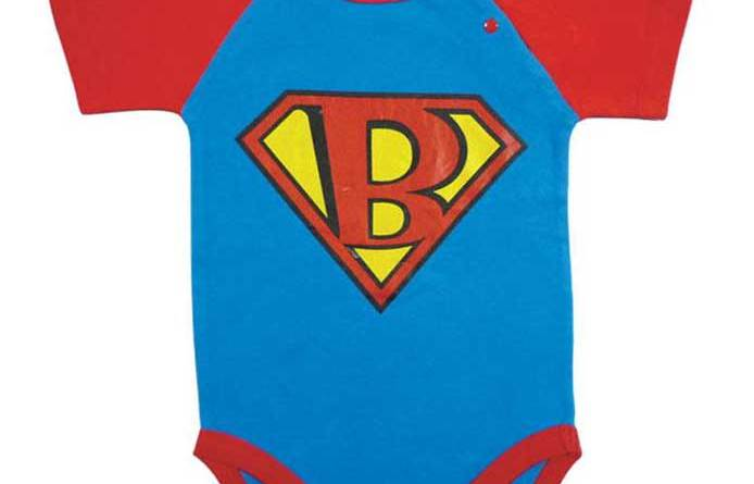 Super Baby onesie from Thrillomatic