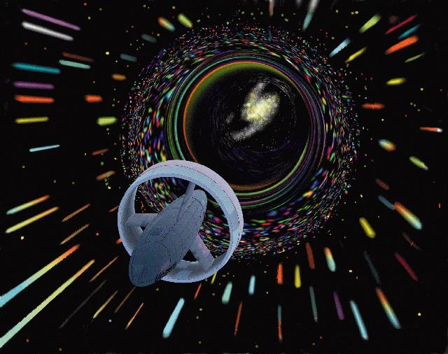 Warp drive, though less impressive with a nuclear reactor. (NASA)