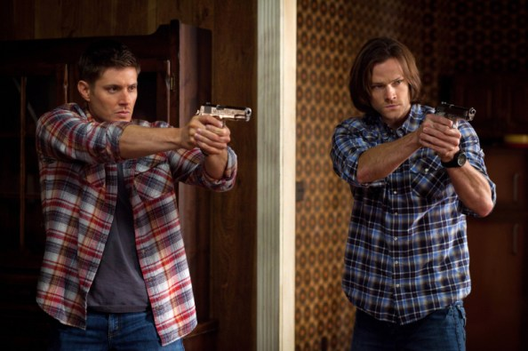 winchesters with guns