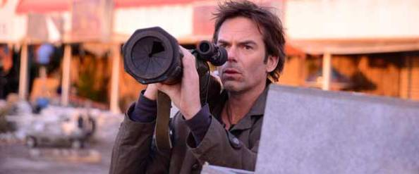 Billy Burke as Miles Matheson in REVOLUTION. Credit: Brownie Harris/NBC)