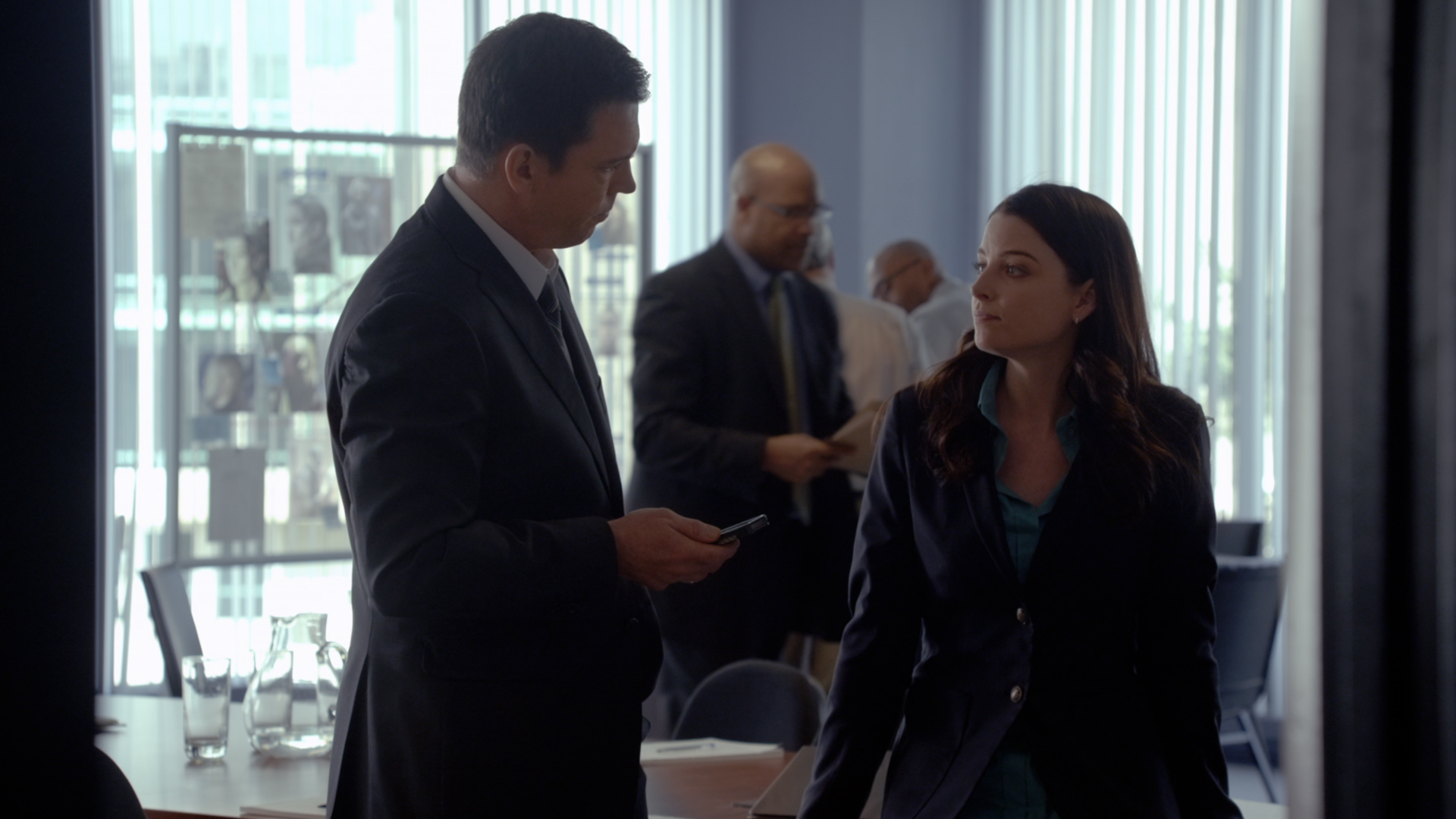 continuum twists the plot makes heads hurt in a good way and gardiner gets his heroic moment sort of because when he goes back to fisker s office he comes face to face mr warren and the guy who has