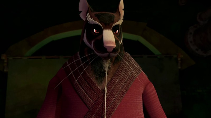 Probably one of the best Master Splinter designs to date. Plus the character adds quite a bit of comic relief in many clever ways throughout the series.