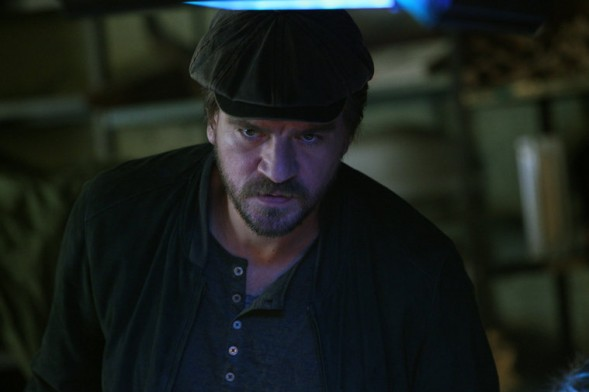 "CONSTANTINE -- ""Quid Pro Quo"" Episode 110 -- Pictured: Charles Halford as Chas -- (Photo by: Annette Brown/NBC)"