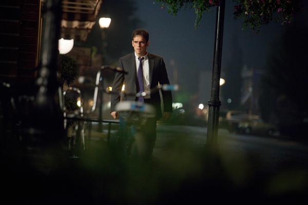 WAYWARD PINES:  Matt Dillon as Ethan Burke.  @2014 Fox Broadcasting Co.  Cr:  Liane Hentscher/FOX
