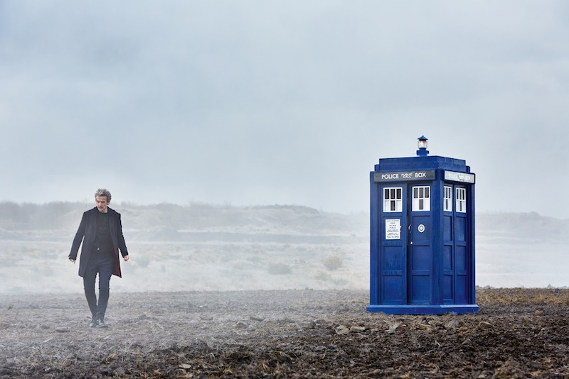 WARNING: Embargoed for publication until: 03/07/2015 - Programme Name: Doctor Who - TX: n/a - Episode: n/a (No. n/a) - Picture Shows: supply on request only from 05:00hrs 3rd July 2015 Doctor Who (PETER CAPALDI), The TARDIS - (C) BBC - Photographer: Simon Ridgway