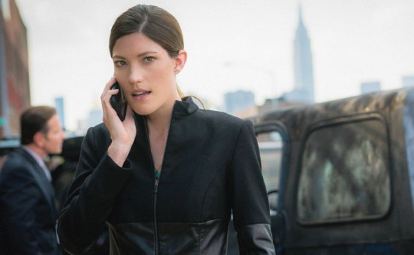 Jennifer Carpenter stars as Agent Rebecca Harris in LIMITLESS, a fast-paced drama based on the feature film, that follows Brian Finch, who discovers the brain-boosting power of the mysterious drug NZT and is coerced by the FBI into using his extraordinary cognitive abilities to solve their most complex cases. The LIMITLESS series premiere is Tuesday, Sept. 22 (10:00-11:00 PM ET/PT) on the CBS Television Network. Photo: Michael Parmelee©2015 CBS Broadcasting, Inc. All Rights Reserved