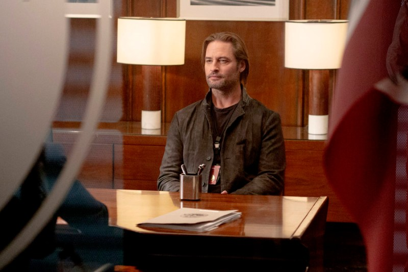"COLONY -- ""Brave New World"" Episode 102 -- Pictured: Josh Holloway as Will Bowman -- (Photo by: Jack Zeman/USA Network)"