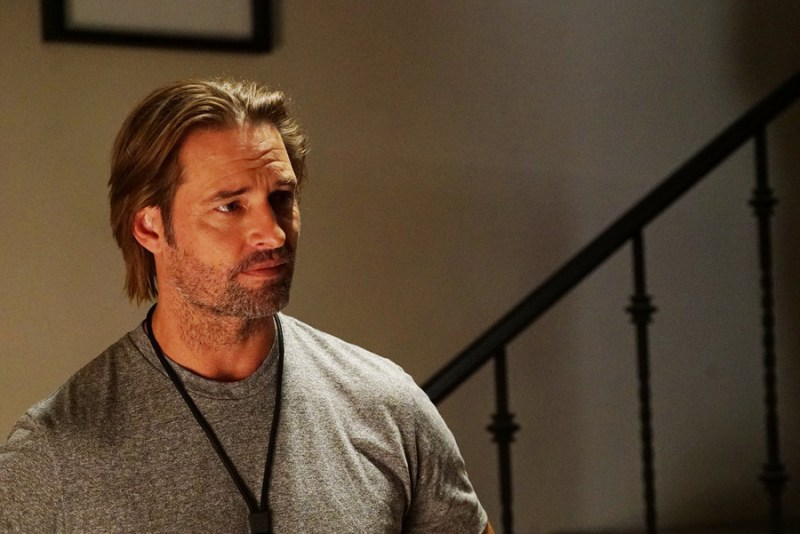 """COLONY -- """"Blindspot"""" Episode 104 -- Pictured: Josh Holloway as Will Bowman -- (Photo by: Danny Feld/USA Network)"""
