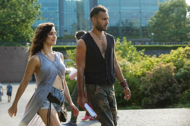 """THE MAGICIANS -- """"Consequences of Advanced Spellcasting"""" Episode 103 -- Pictured: (l-r) Jade Tailor as Kady, Arjun Gupta as Penny -- (Photo by: Carole Segal/Syfy)"""