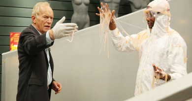 """FACE OFF -- """"Foreign Bodies"""" Episode 1005 -- Pictured: Lance Henriksen -- (Photo by: Jordin Althaus/Syfy)"""