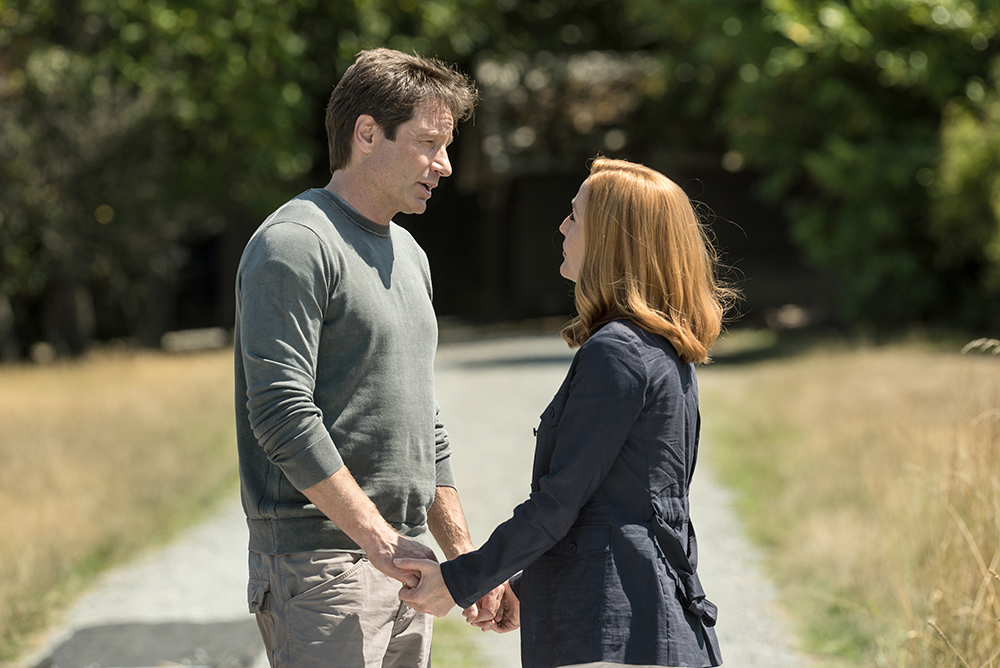 Faith is what Mulder's always been about