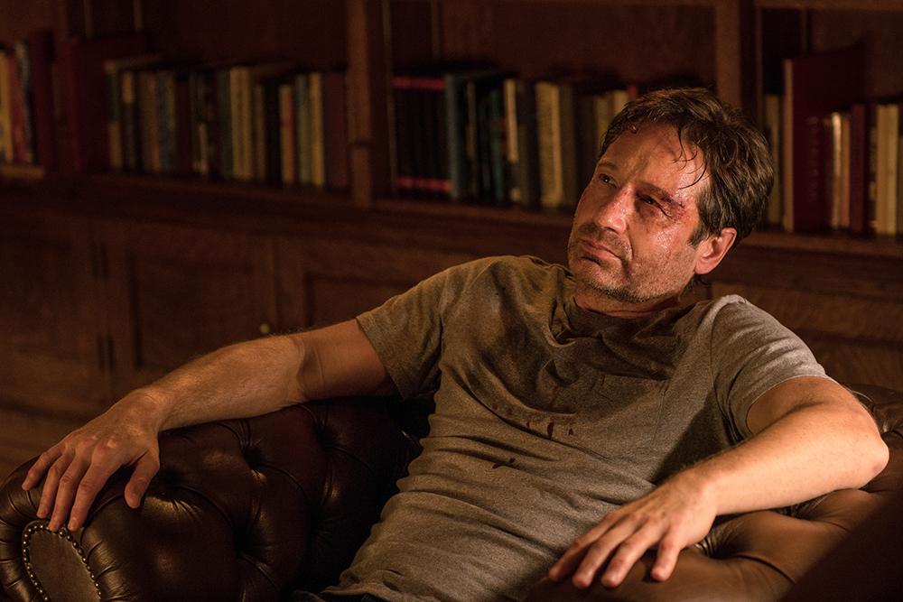 Mulder's not doing so well....