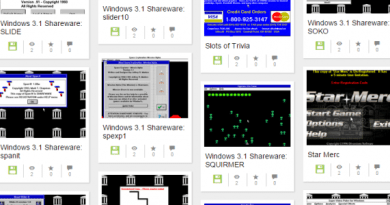 Windows 3.1 programs